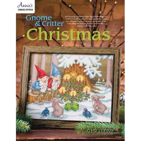 - Gnome & Critter Christmas Cross Stitch Pattern - eBook