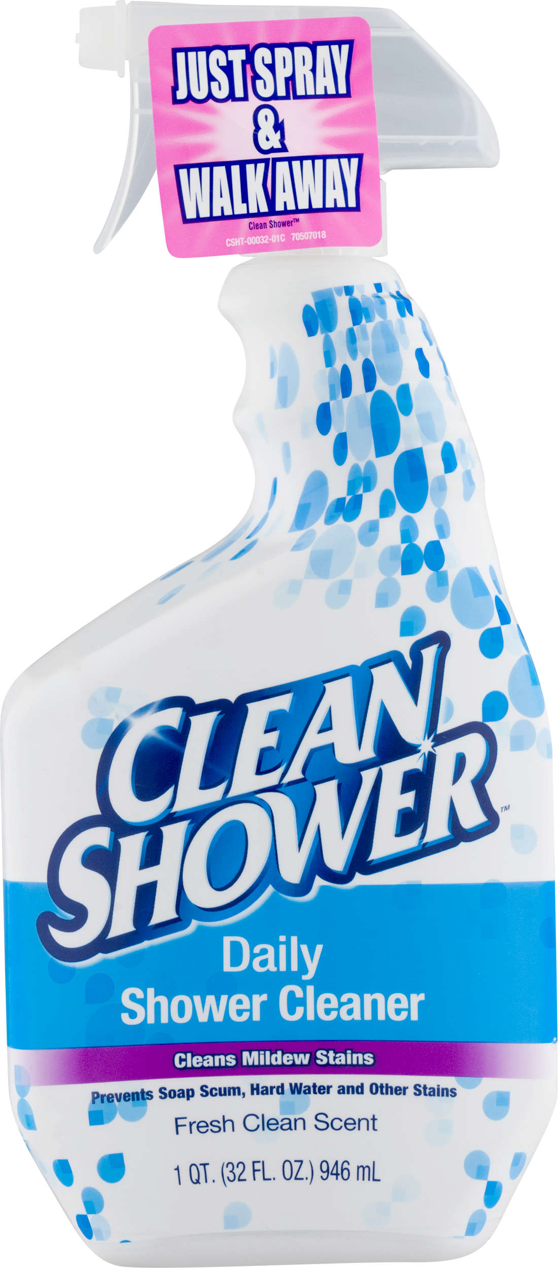 clean shower daily shower cleaner fresh clean scent 320 fl oz walmartcom