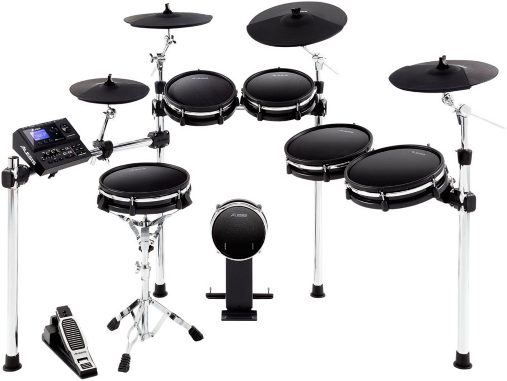 Alesis DM10 MKII Pro Kit Premium Ten-Piece Electronic Drum Kit with Mesh Heads by Alesis