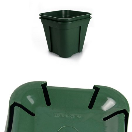 Breathable Plastic Flowerpot Cuttage Planting Plant Pot for Clematis China Rose Decoration - image 2 of 6
