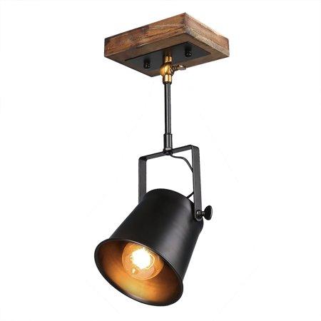 Lnc Wood Close To Ceiling Track Lighting Spotlights 1 Light Lights