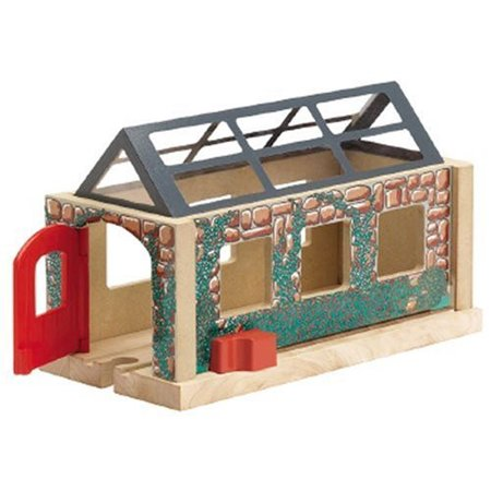 - Learning Curve Thomas and Friends Wooden Railway - Useful Engine Shed