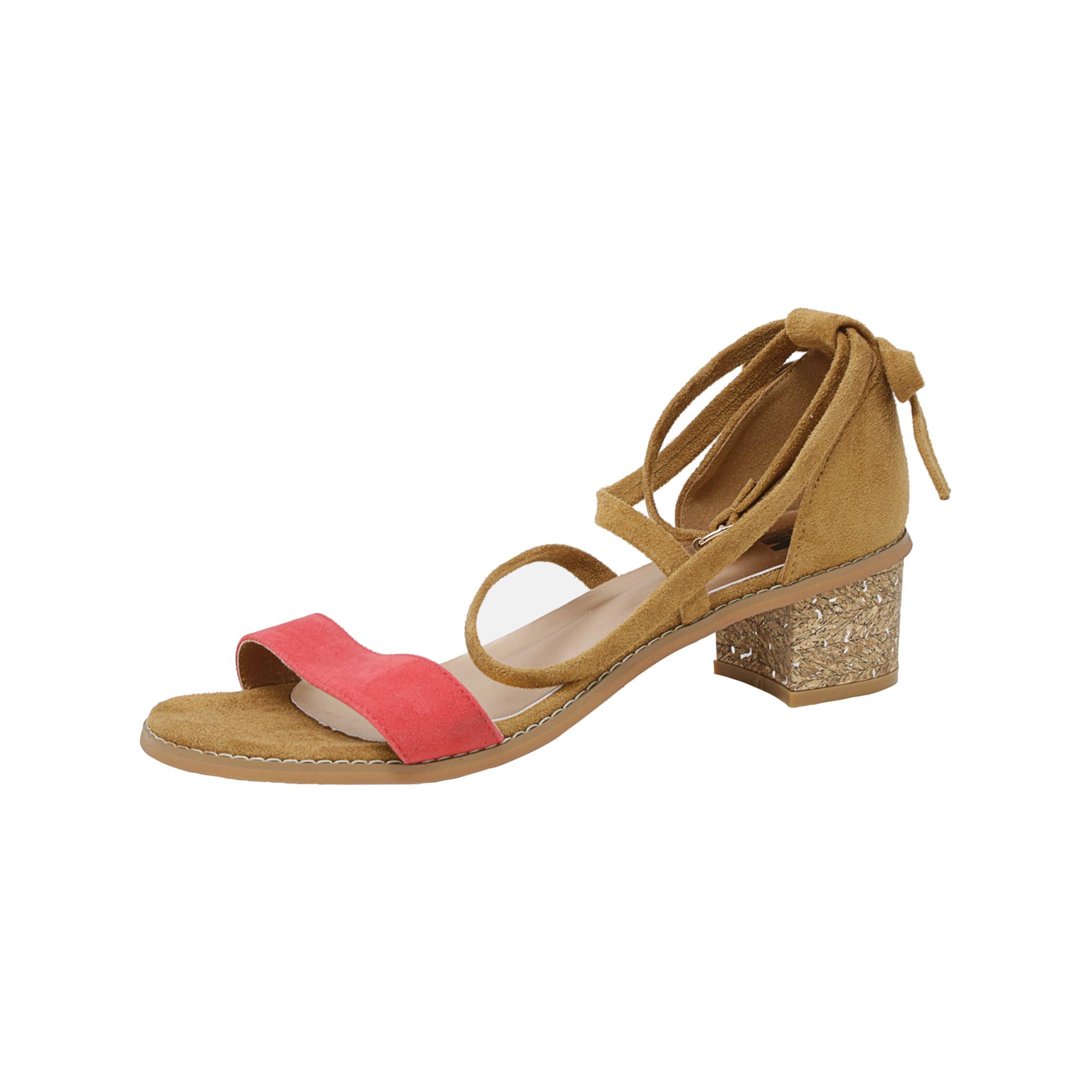 52b487fb7b96 Muk Luks Women s Sasha Cognac Ankle-High Sandal - 10M