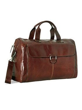 dd8e273d082a Product Image Jack Georges Tuscana Classico Over Nighter  Day Bag VT718  (COGNAC)
