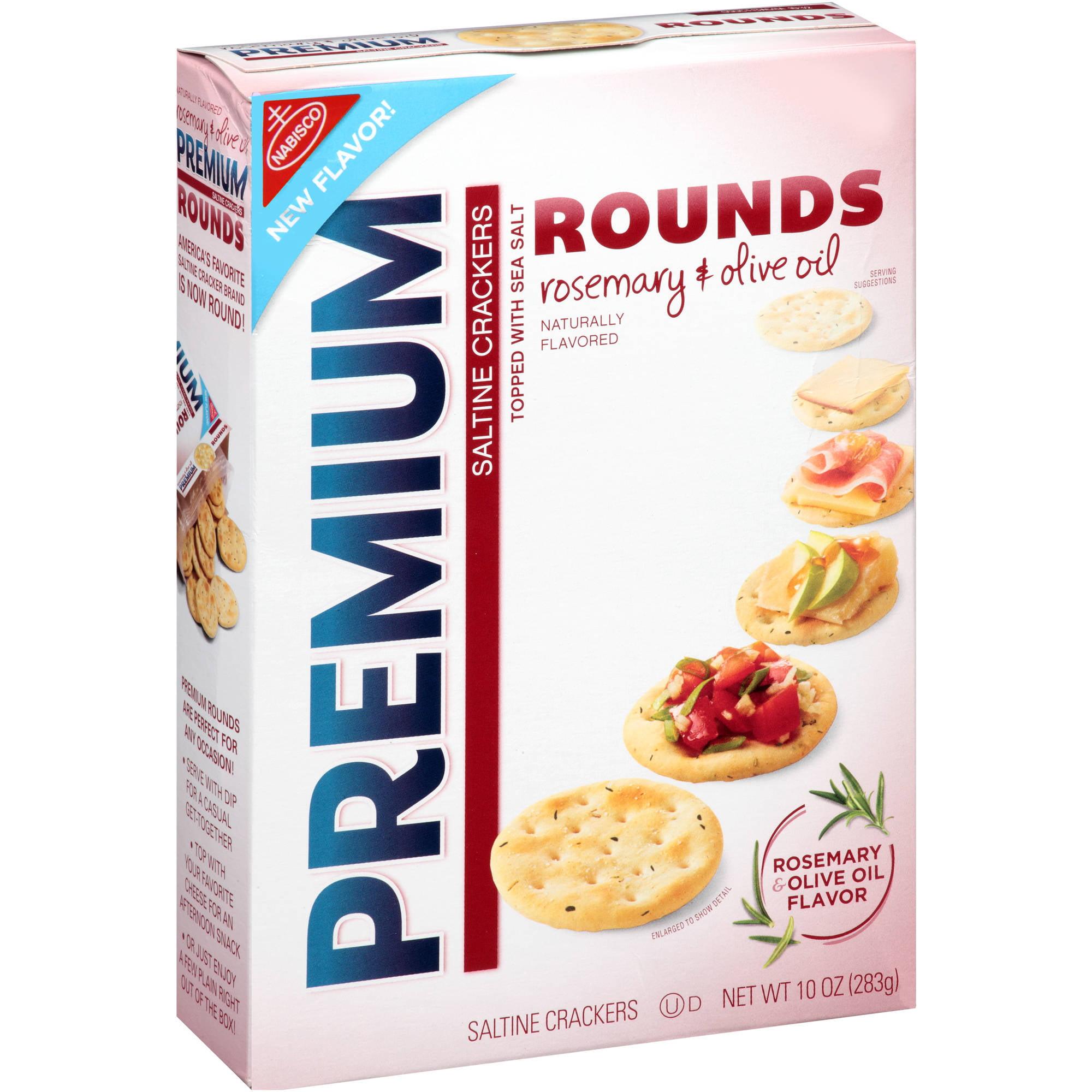Mondelez Premium  Saltine Crackers, 10 oz