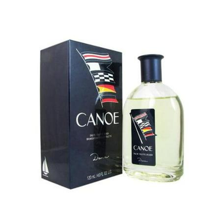 Canoe Eau De Toilette for Men by Dana 4 oz (Pack of 6)