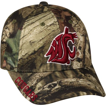 NCAA Men's Washington State Cougars Mossy Cap (Washington Nationals Green Hat)
