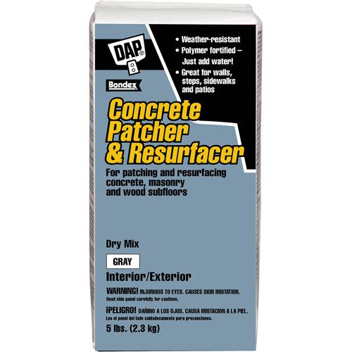 Dap 10466 5 lb Concrete Patcher and Resurfacer