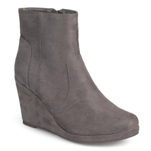 BCBG Max Azria Suede Wedge Booties