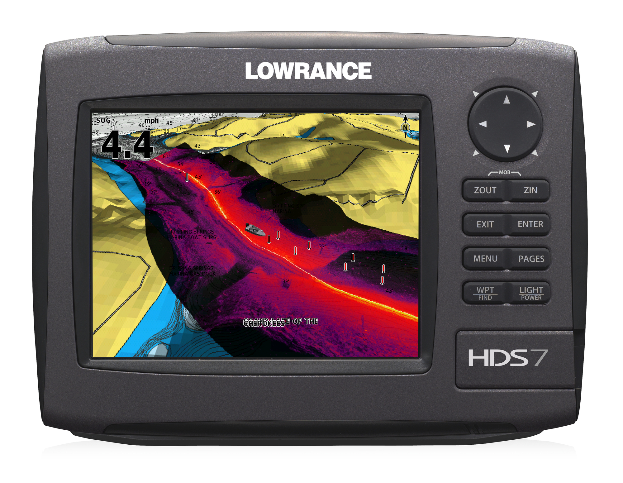 Lowrance HDS-7 Gen2 Insight USA 83/200 kHz Transducer