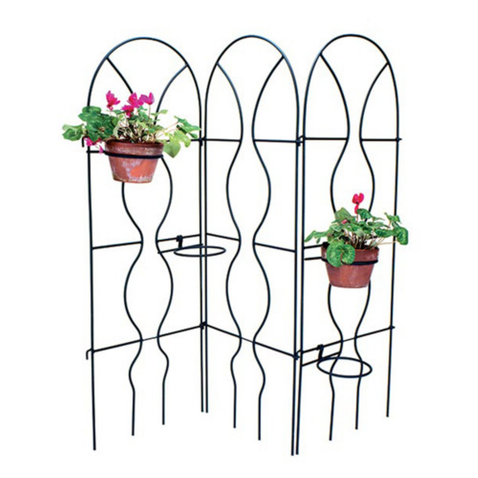 Achla Designs Orangery 1-Panel Metal Trellis by Achla Designs