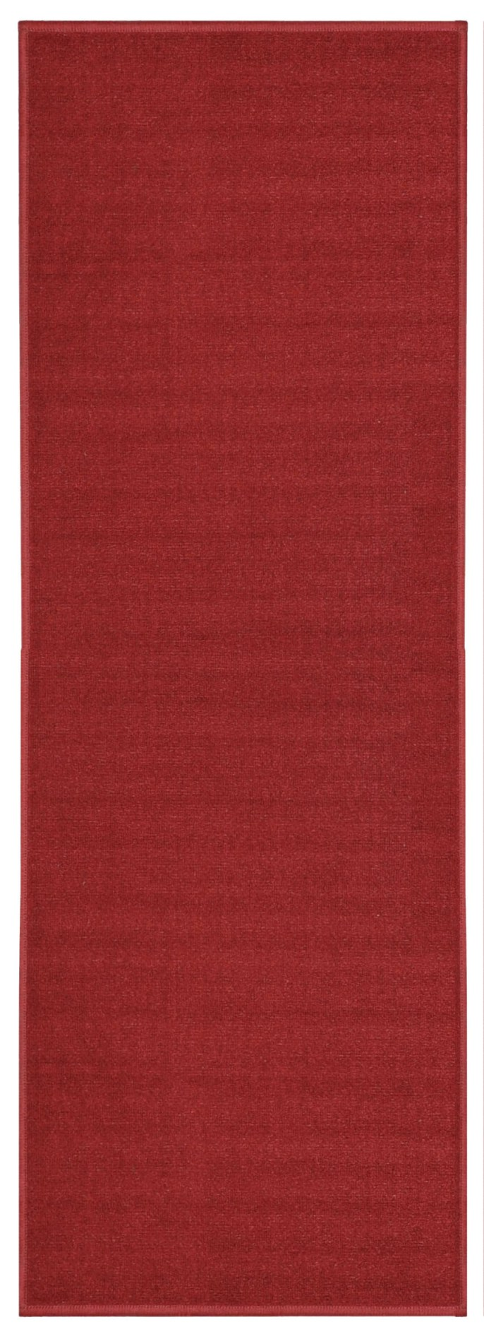 Custom Size Runner Red Solid Single Color Plain Non Slip (Non Skid) Rubber  Back Stair Hallway Rug By Feet 26 Inch Wide Select Your Length   Walmart.com