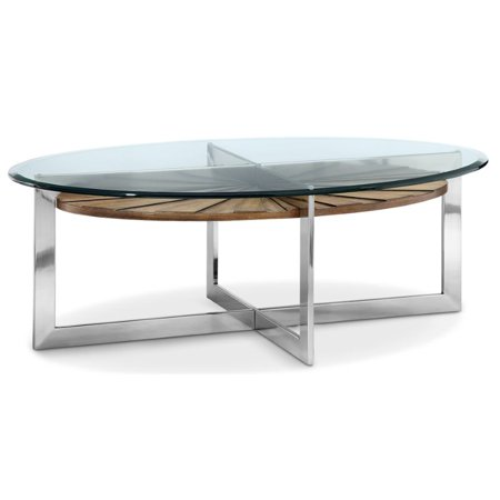 Magnificent Beaumont Lane Oval Coffee Table In Toffee Gmtry Best Dining Table And Chair Ideas Images Gmtryco