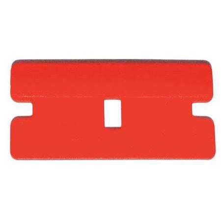 Use Box Scraper (Plastic scraper blades 100 per box)