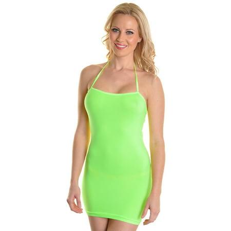 NEW Womens Spandex Seamless Mix-Match Layering Dress