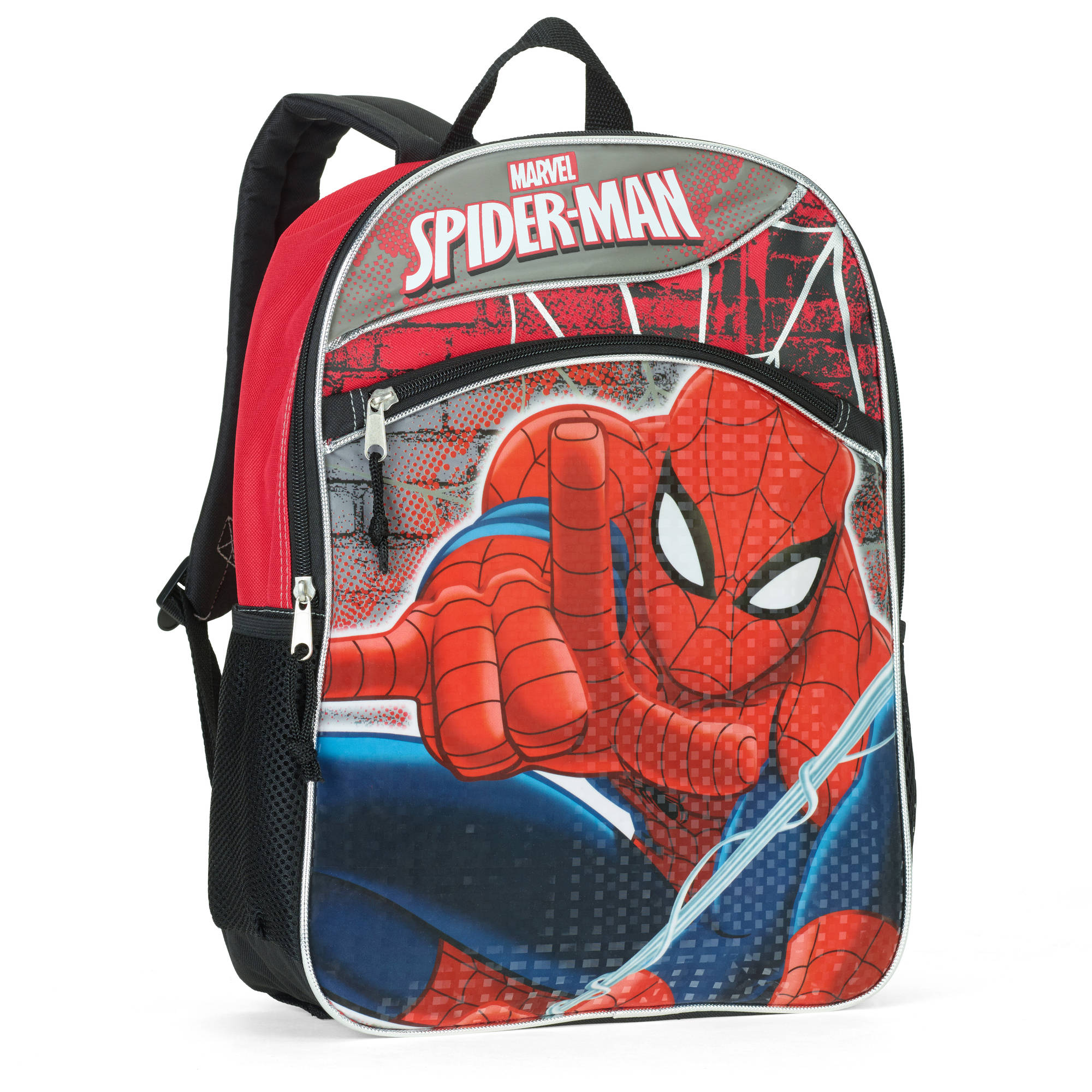 "Marvel Spiderman 16"" Full Size Backpack"