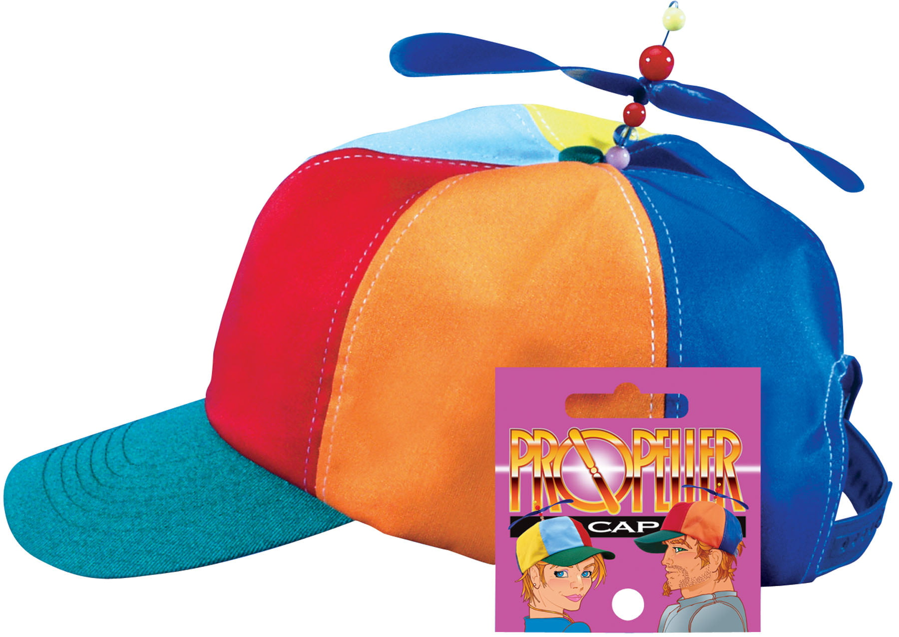 97f7fd000b0cc Star Power Baseball Cap with Propeller Funny Party Hat