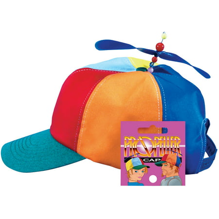 Star Power Baseball Cap with Propeller Funny Party Hat, One Size - Part Hat
