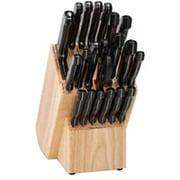 Ronco KN3005BLGEN Rocker 20-Piece Knife and Wooden Block Set