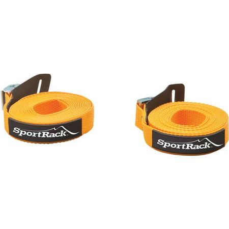 SportRack SR0701 Universal Tie Down Straps, 12-feet, Orange