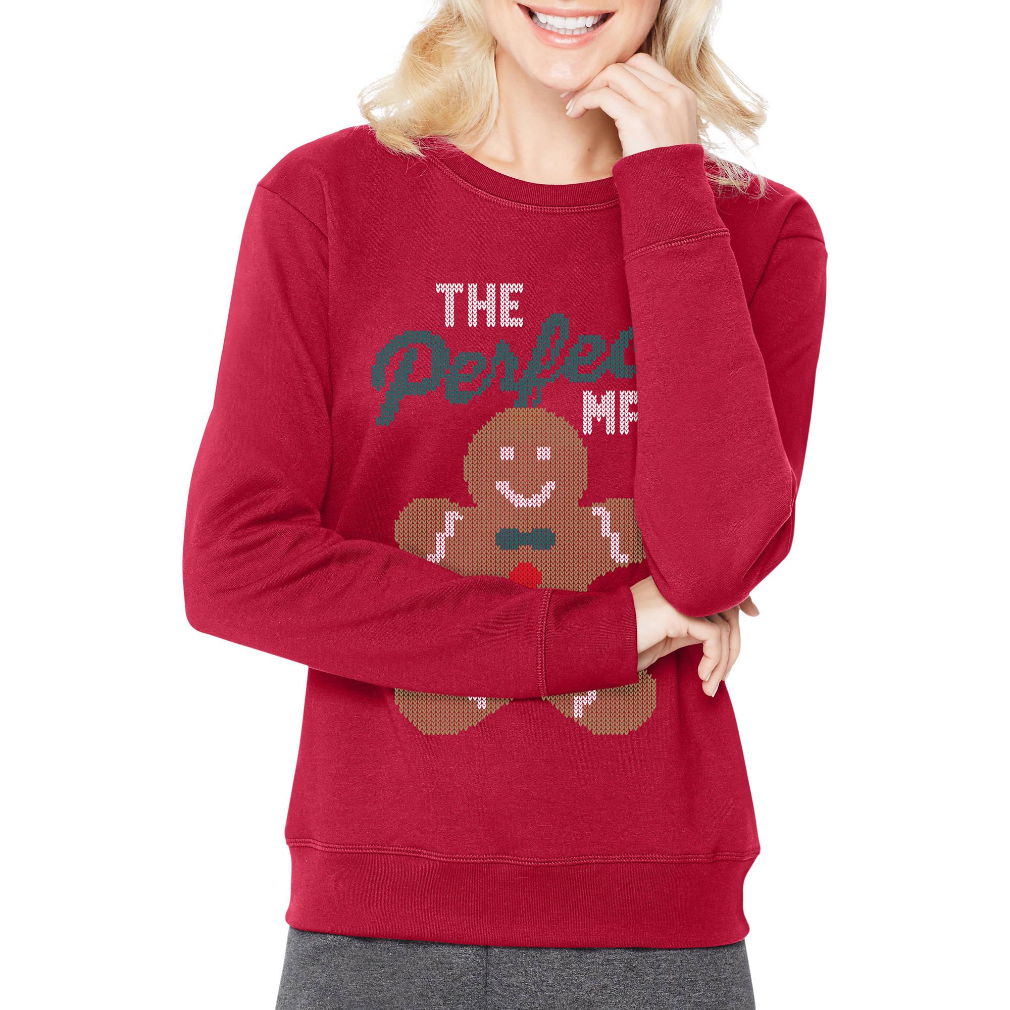 Hanes Women's Christmas Sweatshirt