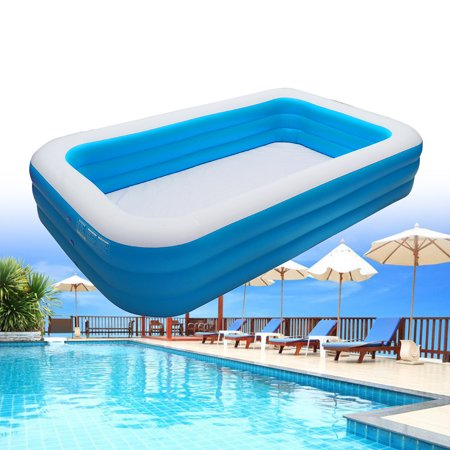 3 Layer Thicken Kids Inflatable Pool 106 118inch Children S Home Use Paddling Pool Swimming Pool For Toddler Walmart Canada