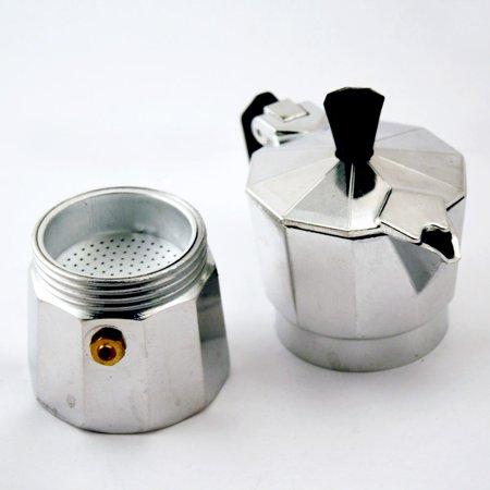 Stove Top Espresso Cuban Coffee Maker Pot Cuccino Latte 3 Cup Cafetera Cubana