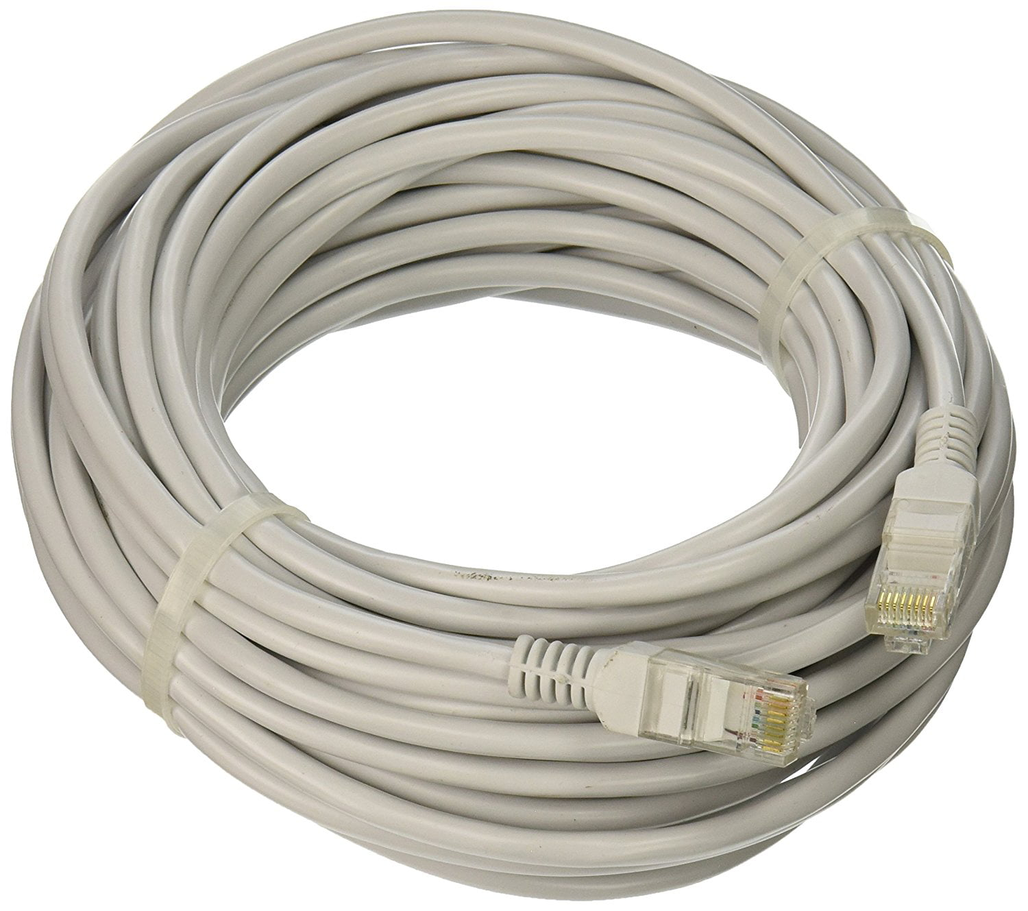 50/' FT CAT5 CAT5E RJ45 Network LAN Patch Ethernet Cable Snagless Cord Grey Feet