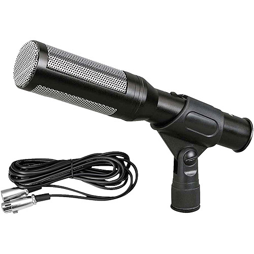"PylePro PDMIC35 Electret Condenser Shotgun Microphone with 16' XLR to 1/4"" Cable and Windscreen"