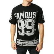 d40fc42f8bc Famous Stars And Straps Men's Famous Blazin Graphic T-Shirt