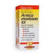 Arnica Montana 6x Boericke & Tafel 250 Tabs
