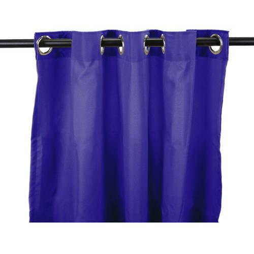 Jordan Manufacturing Paradise Spun Polyester Outdoor Curtain Panel