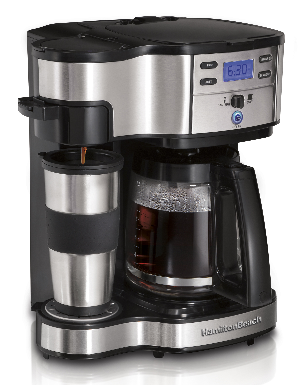 Hamilton Beach 2-Way Brewer 49980A, Single Serve Coffee Maker