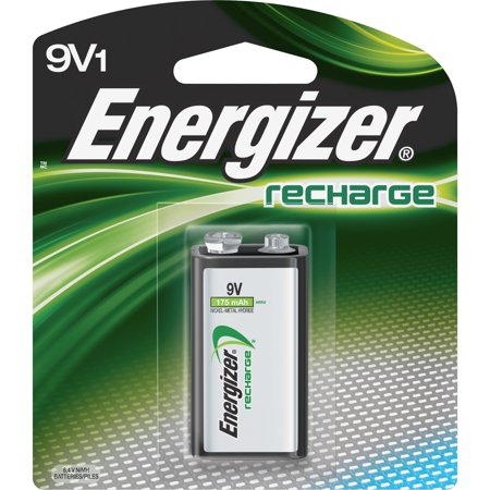 - Energizer Rechargeable 9V Battery