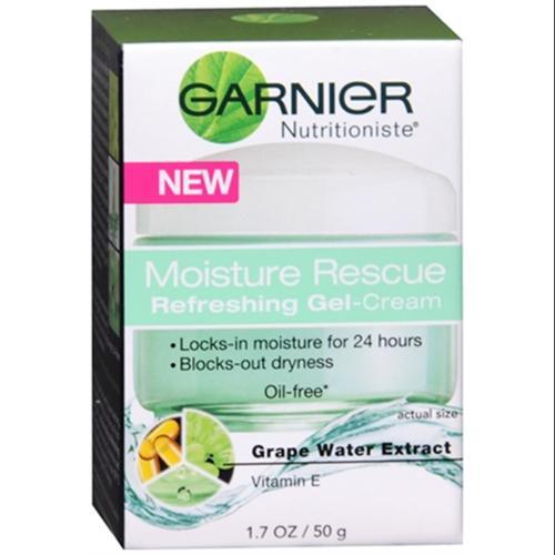 Garnier Nutritioniste Moisture Rescue Refreshing Gel-Cream 1.70 oz (Pack of 6)