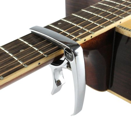Flanger Fc 03 High End Zinc Alloy Capo For Acoustic Classic Electric Guitar Musical Instrument Tune Adjusting Clamps