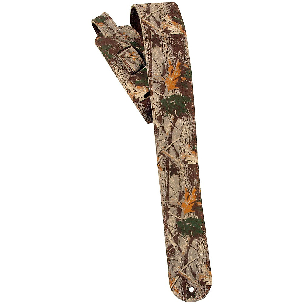 "LM Products 2.5"" Leather Guitar Strap Camo by LM Products"