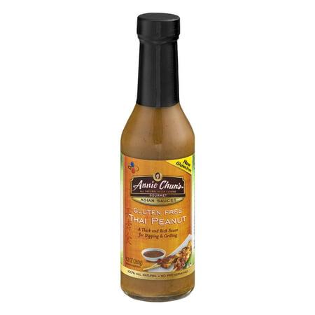 Annie Chun's Gourmet Asian Sauces Gluten Free Thai Peanut, 9.2 OZ