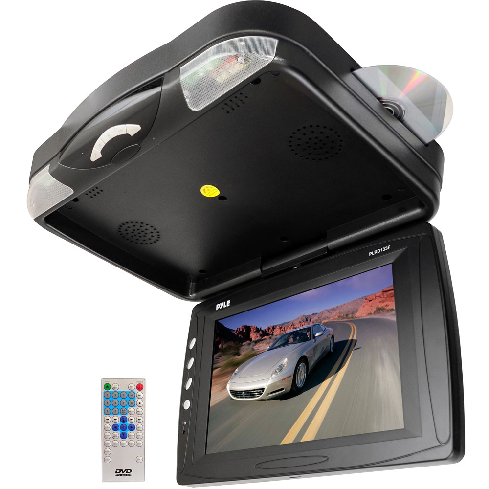 Pyle Plrd133f 12 1 Roof Mount Tft Lcd Monitor W Built