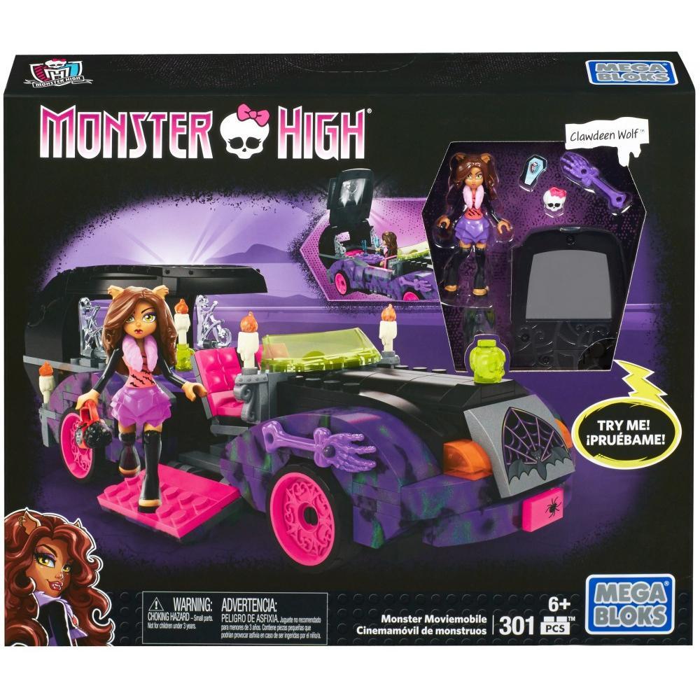 Mega Bloks Monster High Monster Moviemobile