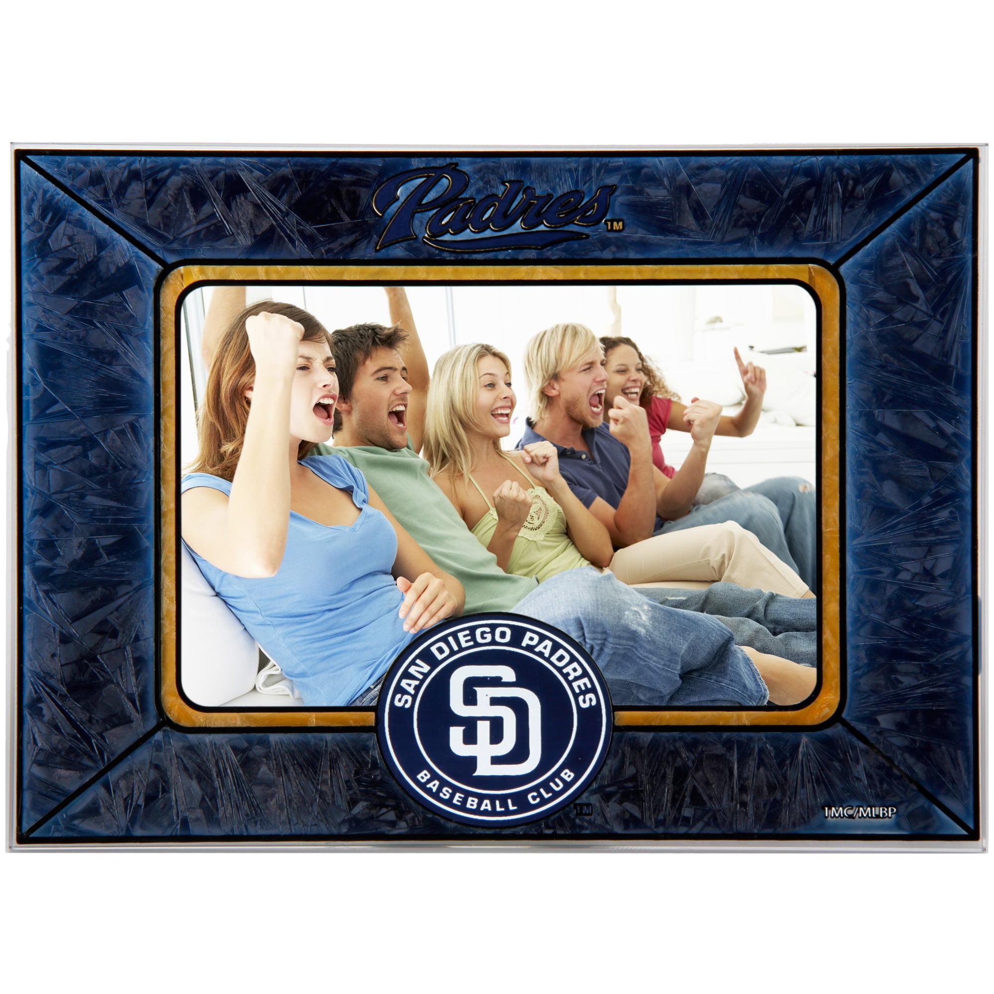 San Diego Padres Horizontal Art Glass Frame - No Size