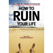 How to ruin your life - eBook