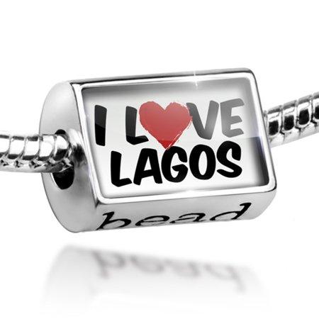- Bead I Love Lagos Charm Fits All European Bracelets