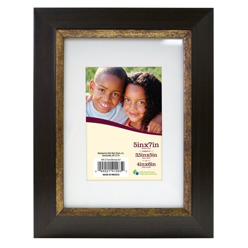 Two Tone 8x10/5x7 Bronze Espresso Frames