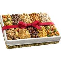 Golden State Fruit Gourmet Best Savory Snacks Gift Basket, 10 pc