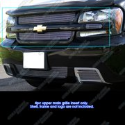 Compatible with 2006-2009 Chevy Trailblazer SS Main Upper Billet Grille Insert C66468A