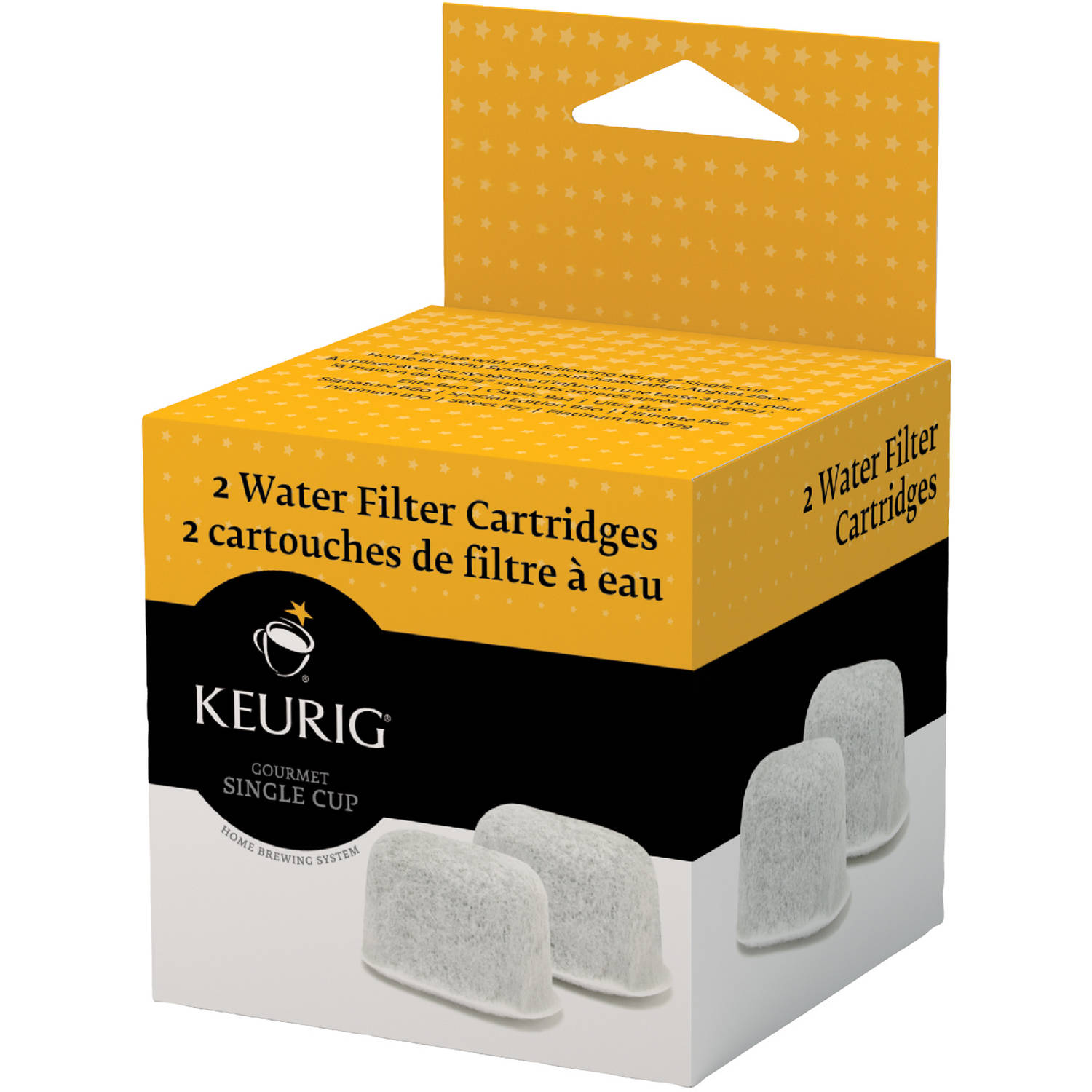 Keurig Water Filter Refill Cartridges, 2 ct