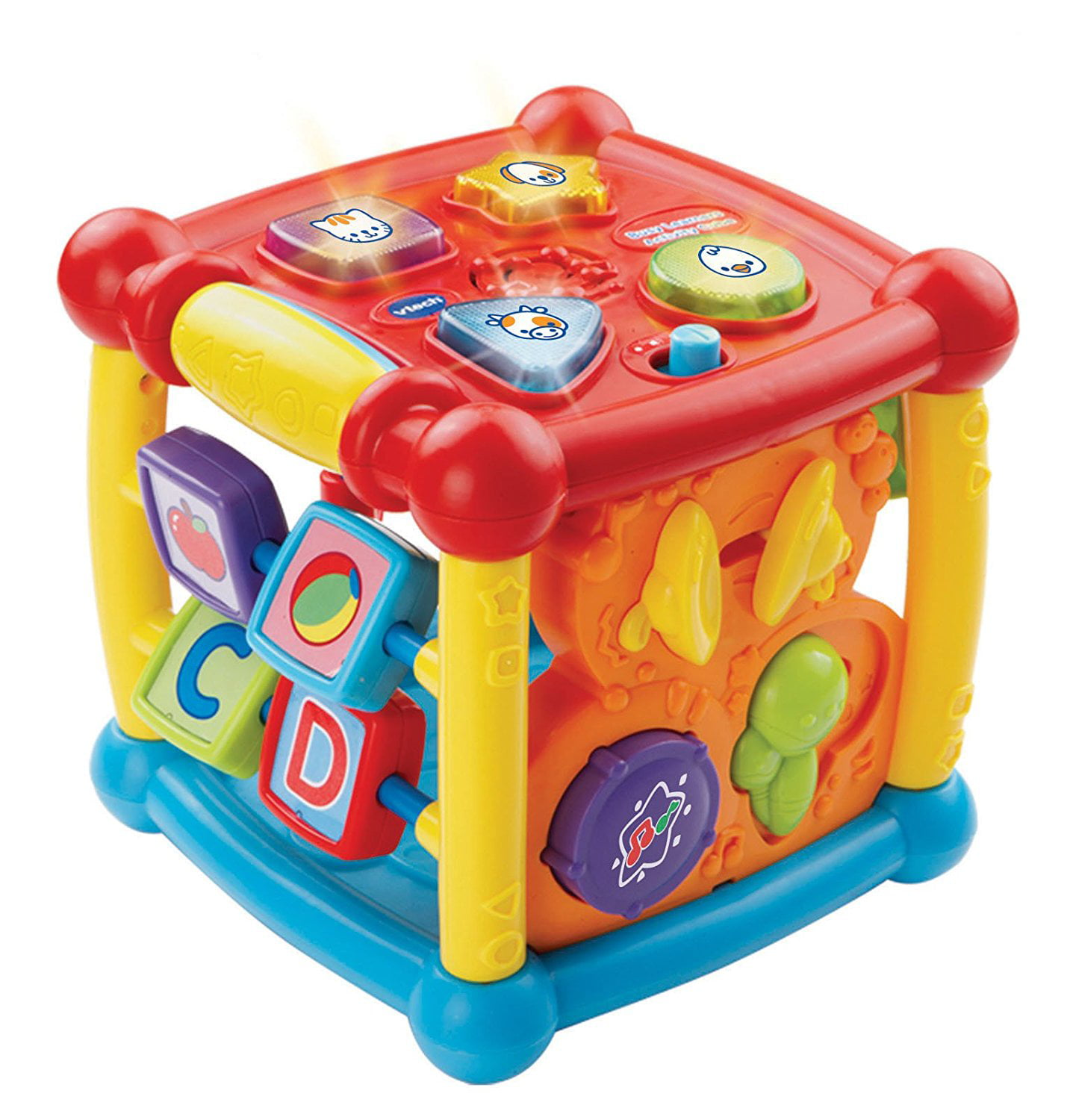 VTech Busy Learners Activity Cube , 14 interactive features and 25 playful songs, New! by
