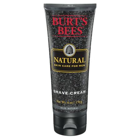 Body Essentials Shave Cream - Burt's Bees Natural Skin Care for Men, Shave Cream, 6 oz