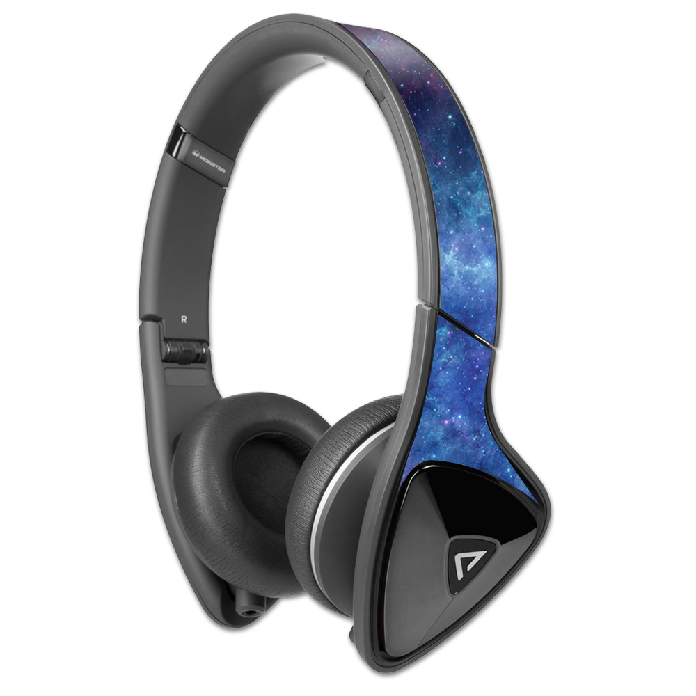 MightySkins Protective Vinyl Skin Decal for Monster DNA Headphones wrap cover sticker skins Nebula